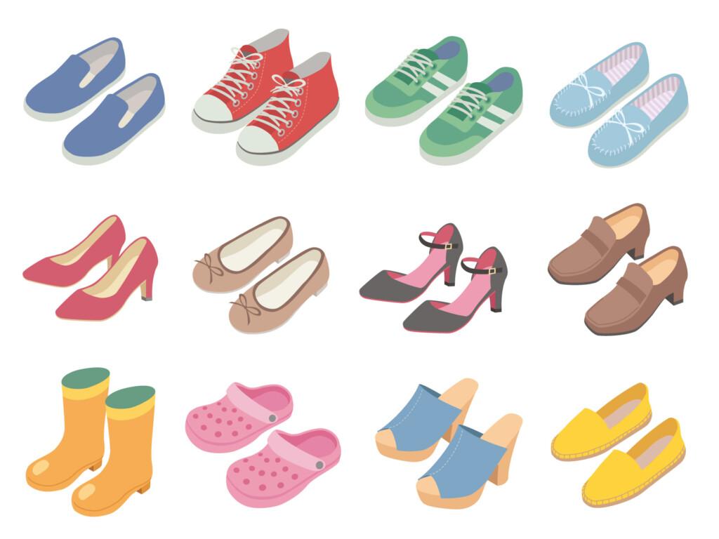 靴が合わない